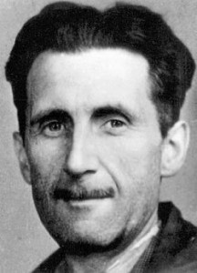 George Orwell press photo (1943)