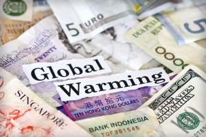Global Warming Climate Change Money - 900