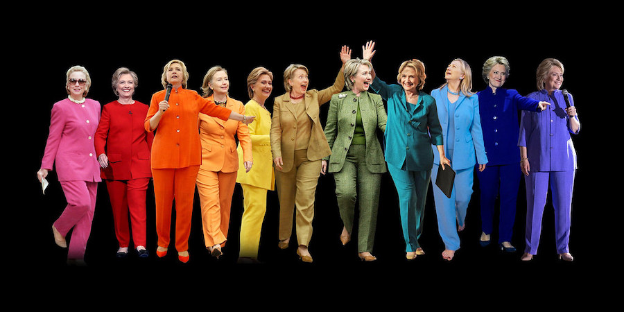 Hillary Clinton pantsuit - Flickr