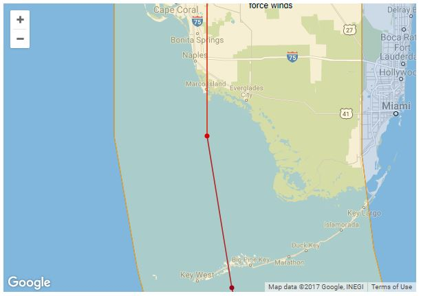 Irmas-FL-landfall-path