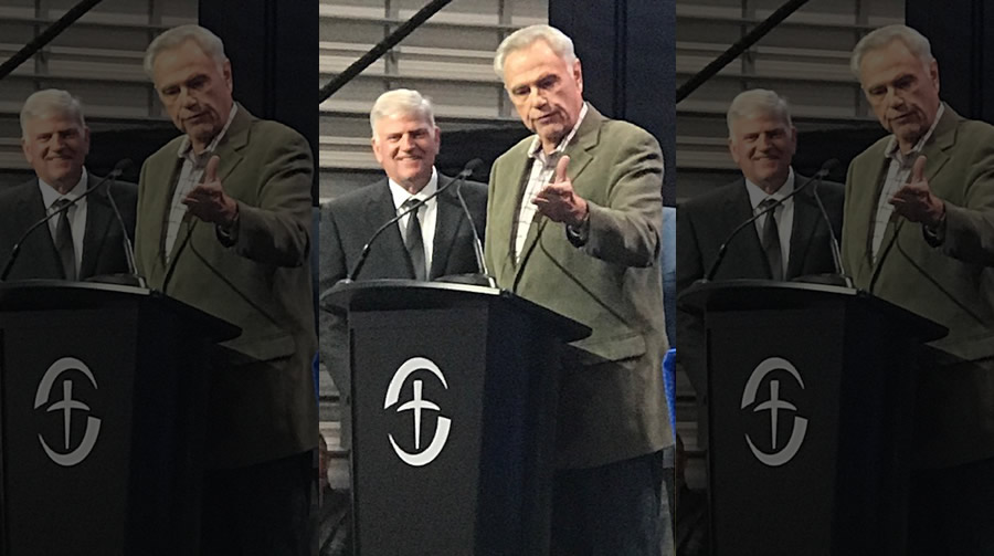 Stream Founder James Robison Attends Dedication of New Samaritan's Purse Center in the Dallas/Fort Worth Area | The Stream
