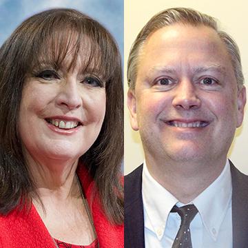 Janet Morana & Kevin Burke