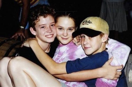 The New Mickey Mouse Club Days: Justin Timberlake, Jennifer McGill and Ryan Gosling.