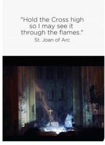 Joan of Arc Notre Dame