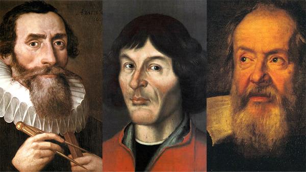 Kepler Copernicus Galileo - 600