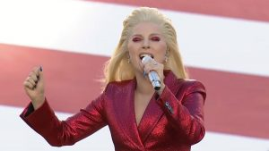 """FILE - Lady Gaga sang the National Anthem at Super Bowl 50, Feb. 7, 2016. This week news broke that Lady Gaga spoke about Mike Pence's support of his wife's teaching job at Immanuel Christian School. """"I am a Christian woman, and what I do know about Christianity is that we bear no prejudice, and everybody is welcome. So you can take all that disgrace, Mr.</body></html>"""