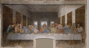 he Last Supper (1498)—Convent of Sta. Maria delle Grazie, Milan, Italy