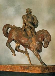 Leonardo da Vinci's Horse and Rider (1508)