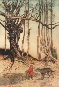 Little Red Riding Hood Illustration - 400