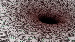 Losing Money Pit of Debt Black Hole - 900