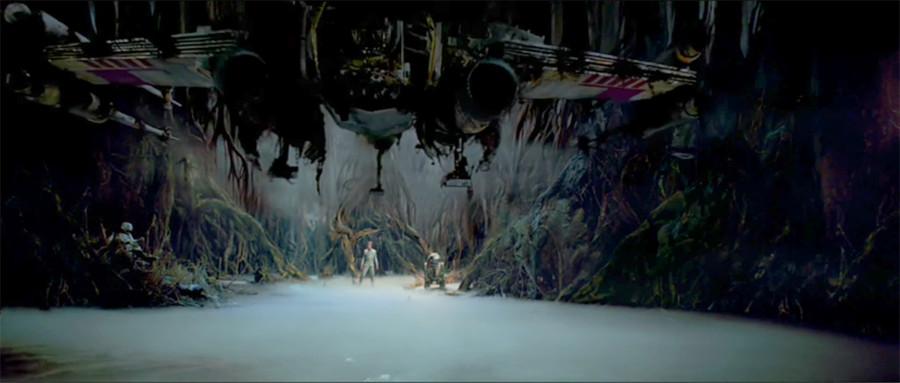 Luke Yoda Swamp Star Wars The Force - 900