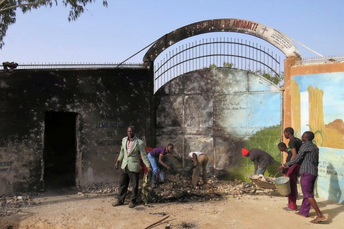 On January 17, 2015, terrorists used fire and rocks in an attack on the Vie Abondante ministry base in Maradi, Niger. They were unable to breach the church compound due to several young African men inside who held the gates.