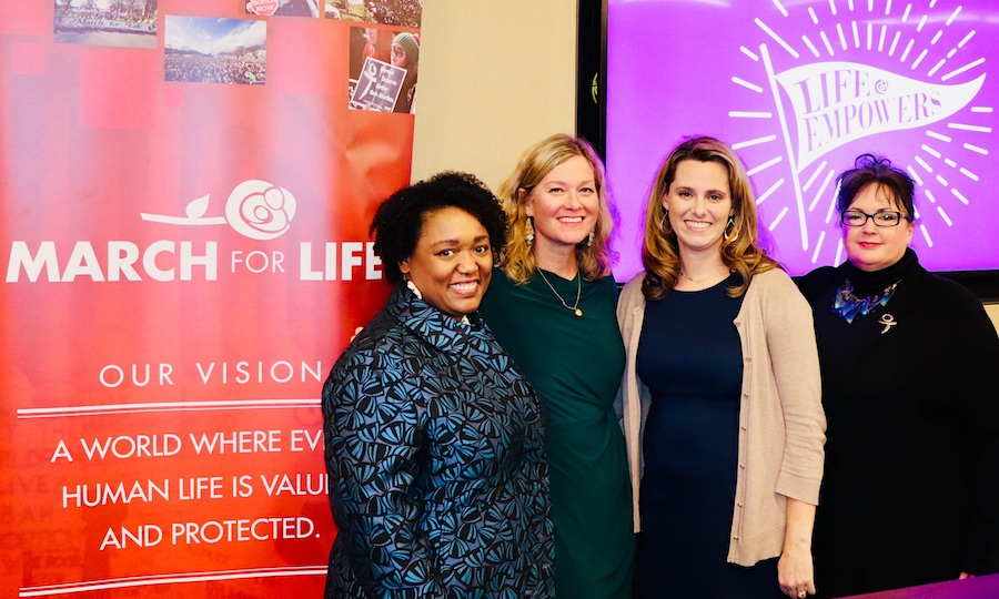 Capitol Hill: Leaders Announce 'Life Empowers' March for Life 2020 Theme
