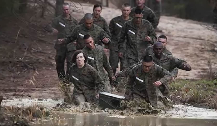 30th Female to Try Marine Infantry Officer Course Falls Far Short ...