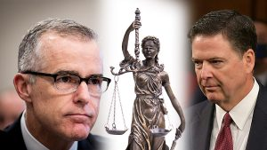 McCabe Comey Blind Lady Justice - 900