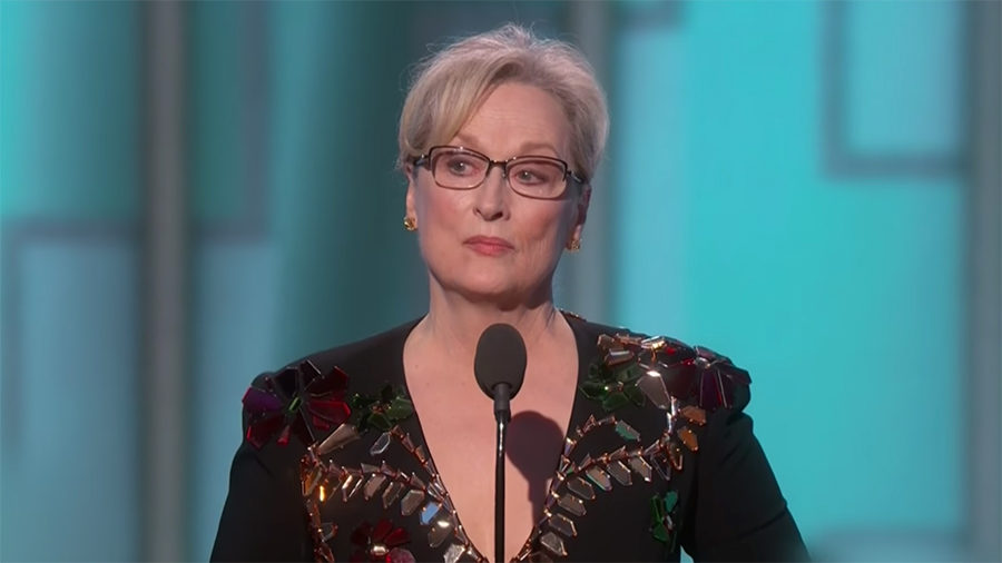 What Meryl Streep (and We) Can Learn From Alabama v  Clemson
