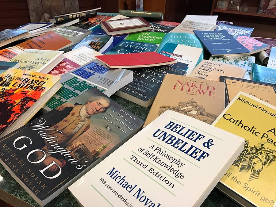 Michael Novak Books - 900