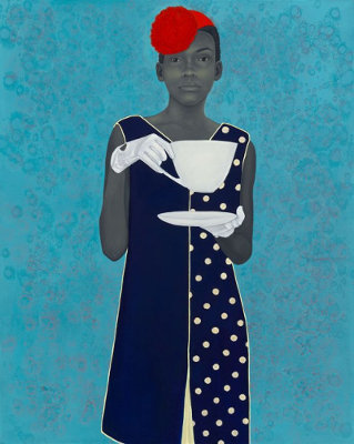 Amy Sherald. Miss Everything (2016).