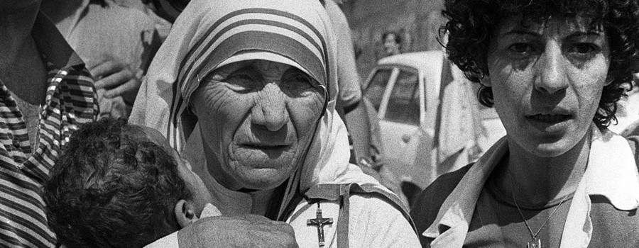 Mother Teresa Cropped - 900