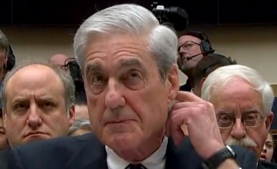 #MuellerHearing: 'That's Beyond My Purview' = 'I Have No Idea What You Are Talking About' | The Stream