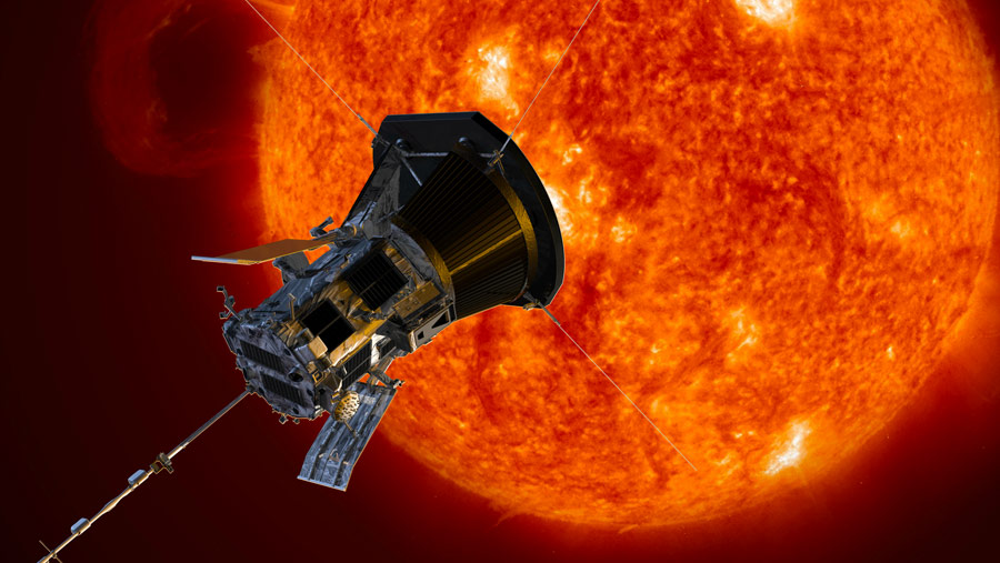 NASA's Parker Probe Kisses the Sun — and Rightly So