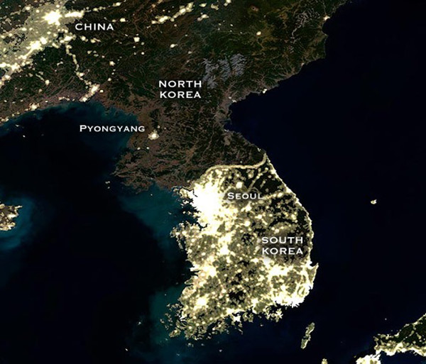 North and South Korea Population and Development - 600