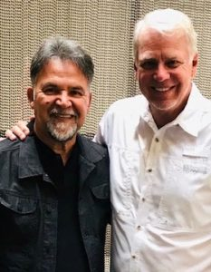 Pastor Juan De La Garza with Mike Hayes