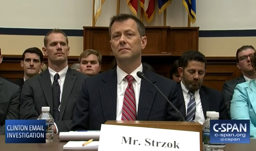 Peter Strzok Wants His Old Job Back! HA! | The Stream