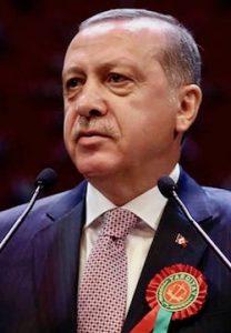 President Recep Tayyip Erdogan (AP photo)