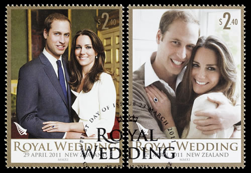 Prince William & Kate Middleton wedding stamps_compressed