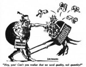 Margaret Sanger Quality Cartoon