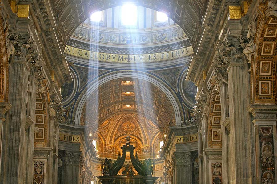 Rays at Noon Vatican Int - 900