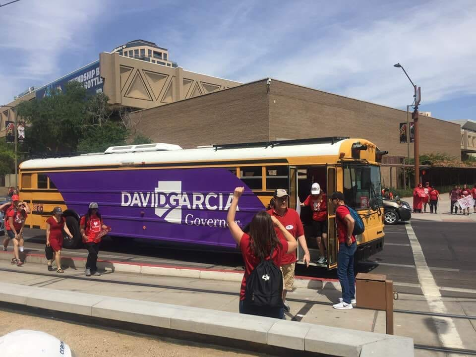 RedForEd bus