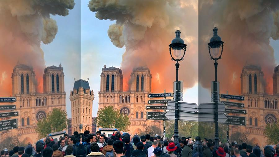 Notre Dame Stream