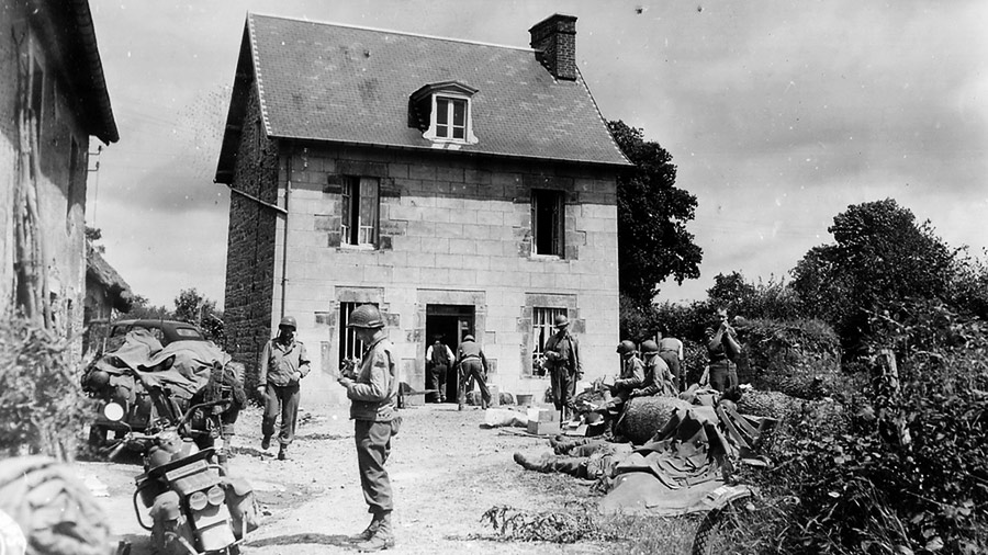 Military Photo Of The Day Relaxing At A French Farmhouse