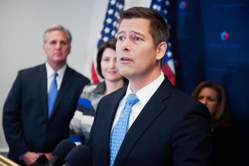 Rep. Sean Duffy, R-Wis., is the leader in the House on the Protecting Internet Freedom Act. (Photo: Tom Williams/CQ Roll Call/Newscom)