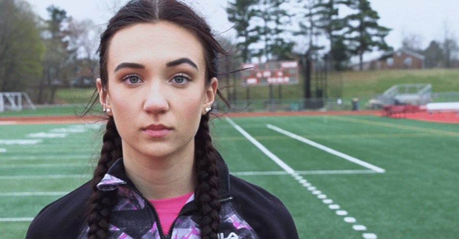 Selina Soule, a 16-year-old runner from Glastonbury, Connecticut, shares what it's like being forced to compete against biological boys. (Photo: The Daily Signal)