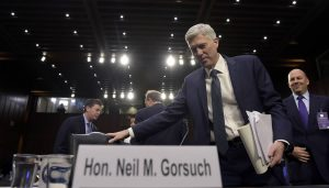 Gorsuch Promises Faithfulness to Constitution During Second Day of Questioning