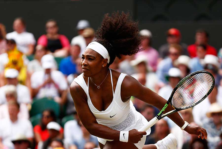 Wimbledon Williams Sisters Wow >> Serena Williams Beats Sister Venus In 2 Sets In 4th Round At
