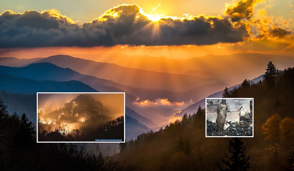 Heart and soul tested in tennessee wildfire tragedy the for God s gift cabin gatlinburg