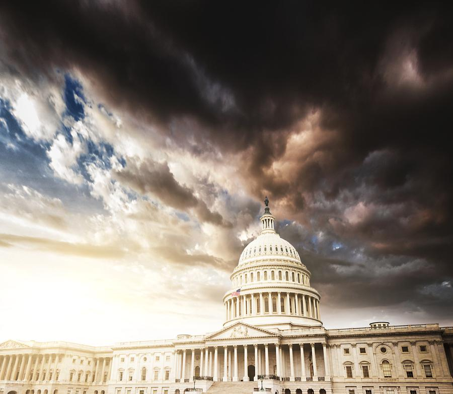 Storm about to hit the nation's capital. Which Way is it Blowing?