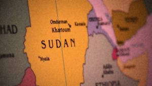 Sudan Map Dark - 900
