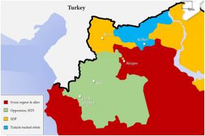 Syria Map 2018
