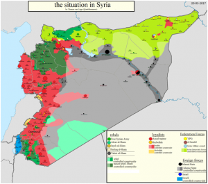 Syria Map big