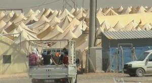 Syrian Refugee Camp on Turkish Border - 900