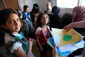 Syrian Refugee Children in Jordan Clinic - 900