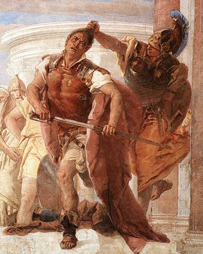 The Rage of Achilles by Giovanni Battista Tiepolo