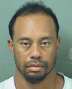 Tiger Eldrick Woods appears in a booking photo released by Palm Beach County Sheriff's Office in Palm Beach, Florida, U.S., May 29, 2017. Palm Beach County Sheriff's Office/Handout via REUTERSTHIS IMAGE HAS BEEN SUPPLIED BY A THIRD PARTY. FOR EDITORIAL USE ONLY. NOT FOR SALE FOR MARKETING OR ADVERTISING CAMPAIGNS - RTX384BU