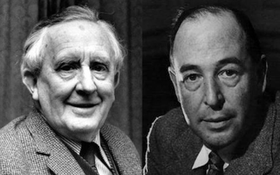 Imagini pentru CS Lewis & JRR Tolkien