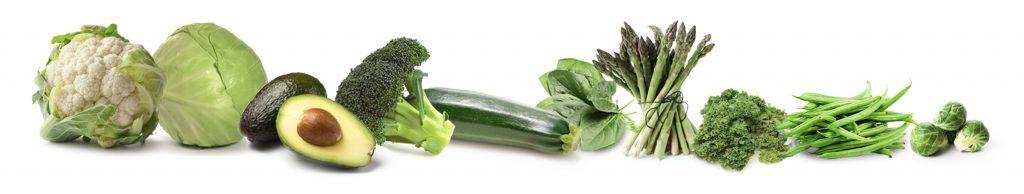 Top Ten Green vegetables
